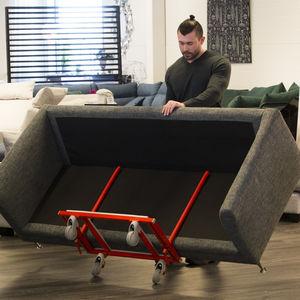 handling cart / metal / multipurpose / for doors