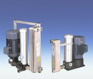 oil filtration unit / compact / cooling