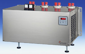 gas cooler / for samples / for compressors / compact