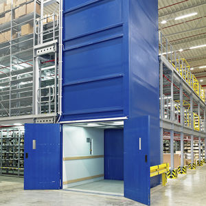 goods lift with electric actuator
