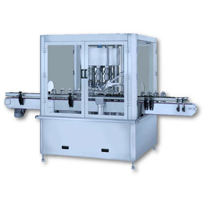 rotary screw capping machine / multi-head / automatic / multi-container