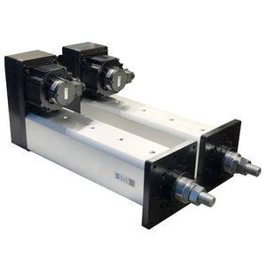 electric servo-cylinder / stepper / compact / programmable