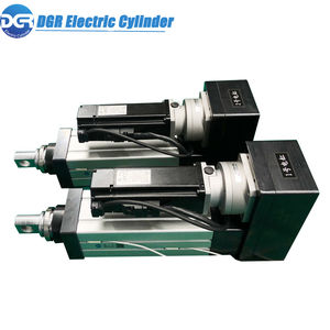 electric cylinder / double-acting / with guided piston rod / with threaded rods