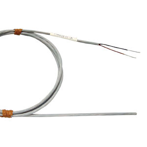 thermistor temperature sensor / NTC / mineral-insulated / hermetically-sealed