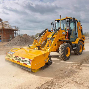 rigid backhoe loader