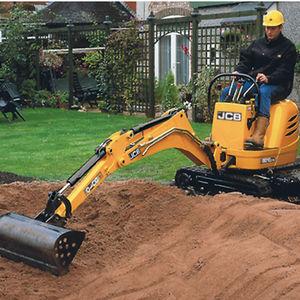 micro boom excavator