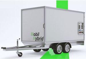 three-phase generator set / biogas / LPG / hybrid