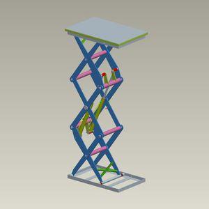 triple-scissor lift table