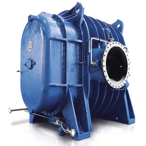 gas blower / rotary piston / single-stage / two-stage
