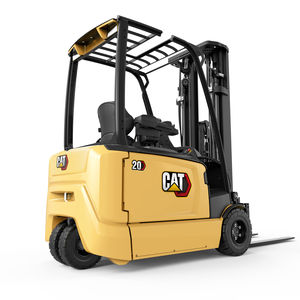 electric forklift / ride-on / handling / for the food industry