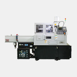 NC automatic lathe / 2-axis / high-precision