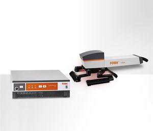 fiber laser marking device / for metal / for wood / industrial