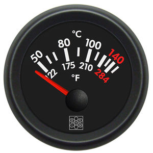 temperature gauge / calibration / oil / for motors