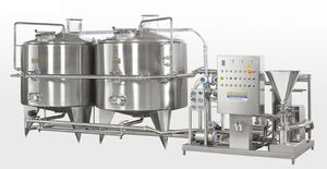 mixing tank / metering / premix / for water