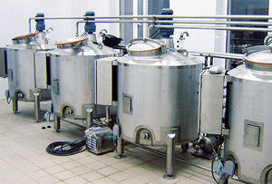 heating vessel / control / fermentation / stainless steel