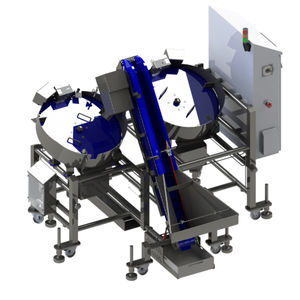 vertical case packer / automatic / food / for the food industry