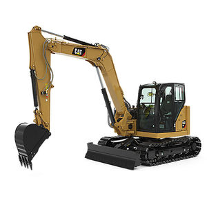 mini excavator / crawler / diesel / Tier 4 - final