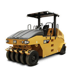 pneumatic tired road roller