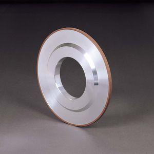 surface treatment wheel / flat / peripheral / metal-bonded CBN