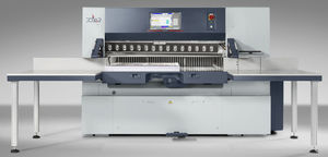 programmable paper cutter / high-speed / digital display / precision