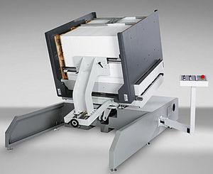 stationary pile turner / vibrating / for paper