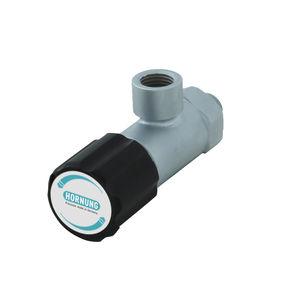 diaphragm dispensing valve / for gas / membrane / precision