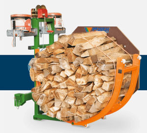 log bundling machine