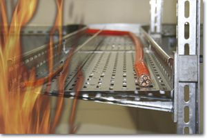 fire-resistant cable tray