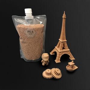 PLA 3D printing pellet / brown