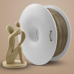 3D printer PLA filament / 1,75 mm / 2,85 mm / beige