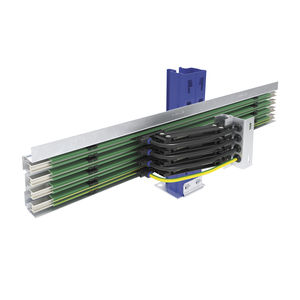 compact busbar / multipole / open / for cranes