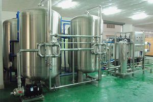 water purification unit for the food and beverage industry