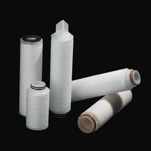 liquid filter / with cartridge / membrane / for pharmaceutical applications