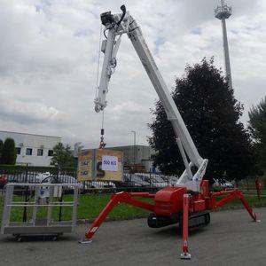 crawler spider crane