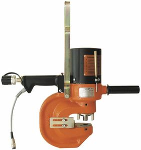 semi-automatic punching unit / hydraulic / for metal sheets / single-punch