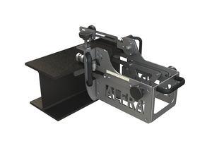 semi-automatic punching machine / hydraulic / plate / portable