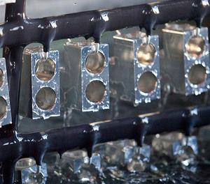 hard anodizing / aluminum / automotive / medium series