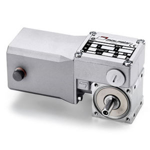 worm gear-motor / DC / right angle / 10 W...50 W