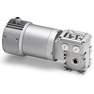 worm gear-motor / DC / planetary / right angle