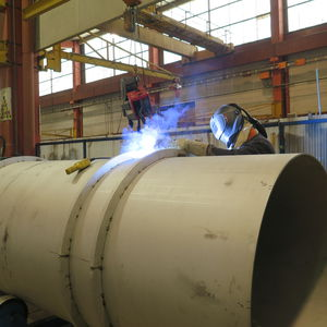 arc welding / steel / stainless steel / for the construction industry
