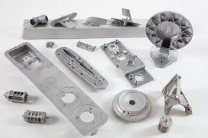titanium die casting / steel / copper / zamak