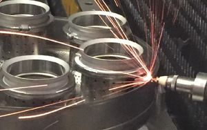 laser mechanized welding