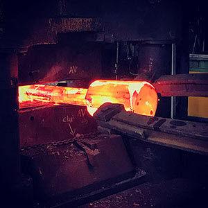 open die forging