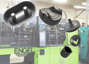 bi-material plastic injection / thermoplastic / technical parts / large series