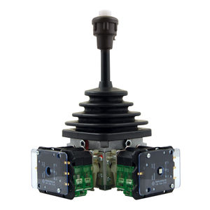 single-axis joystick / 2-axis / double-contact / programmable