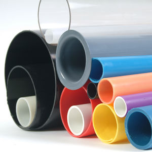 plastic extrusion / thermoplastic / for tubes / for electronics