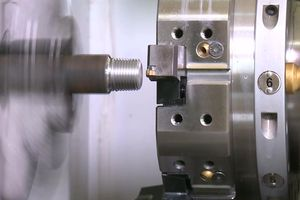 steel boring machining