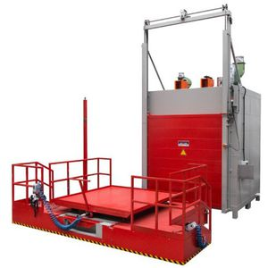 drying oven / heating / curing / polymerization