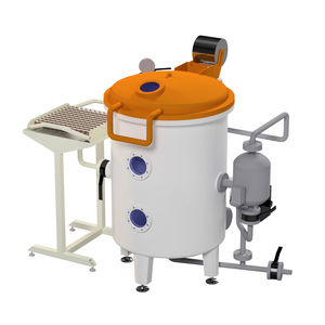 laboratory autoclave / process / vacuum / top-loading