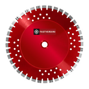 ceramic cutting disc / diamond-coated / for stationnary machines